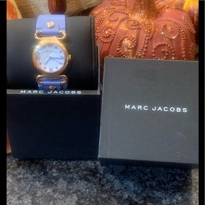 Marc Jacobs Watch MBM1307 Rose Gold Leather